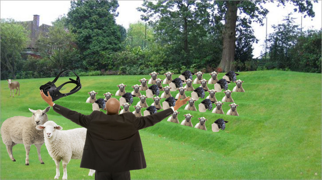 Clergy muzzle the flock stolen from Jesus which is why a Reformation is needed